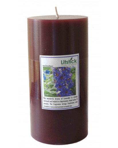 Scented Pillar candle, 3x6 (Choose Fragrance)