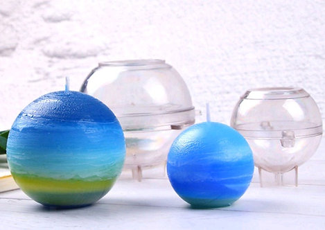Ball PVC Candle Molds, Select size