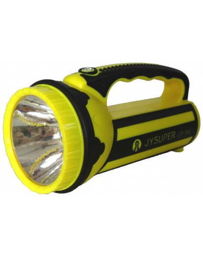 Rechargeable 2W LED torch, 2 panels