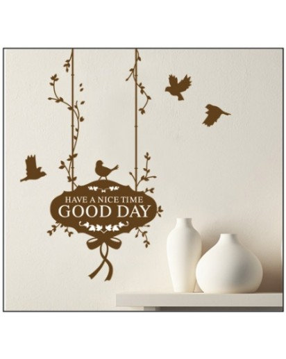 50x70cm, Good Day Wall decal