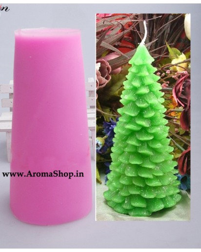 Christmas Tree Silicone candle mold 1 piece