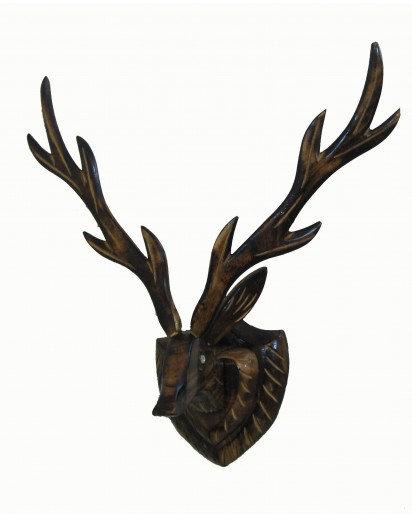 Barasingha Wooden Antique Piece