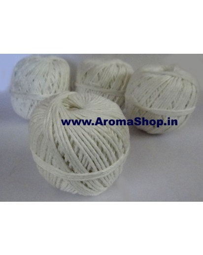 Cotton Candle Wick, 4 Rolls each 100 meter