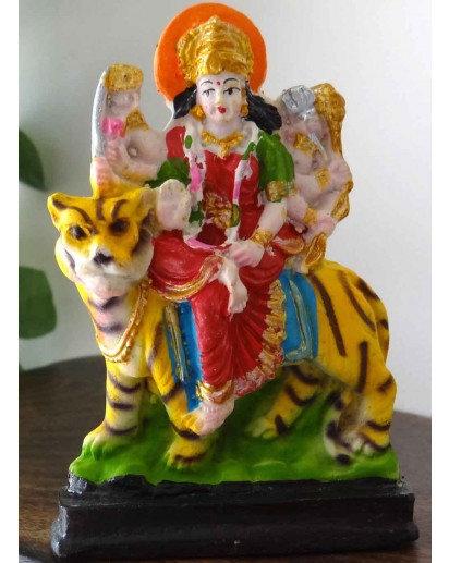 Durga small statue, Rasin statue
