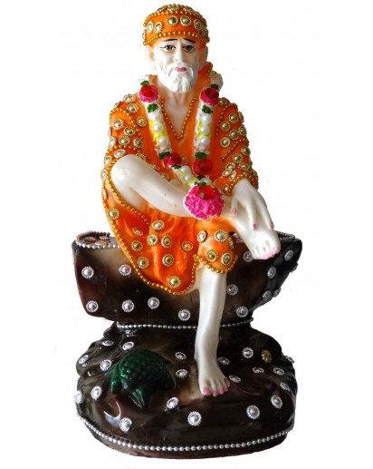Sai Baba Jewel statue, Rasin