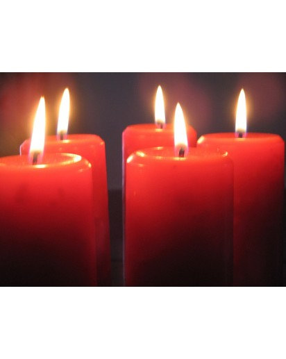 Aroma Pillar Candle- 2x4 inch