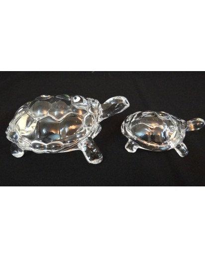 Crystal Tortoise Set of 2