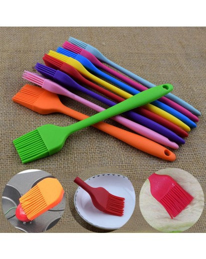 1 Silicone Baking Cake Pastry Bread Oil Cream Cooking Basting Brush