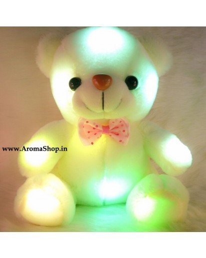 Colorful Glowing Luminous Plush Baby Teddy Bear toy