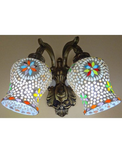 Decorative light, Wall shade Double Raju