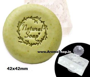Soap making stamp natural handmade soap diy, STAMP