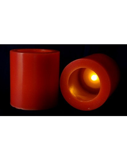 3x3 inch Scented LED Candle, Choose Fragrance