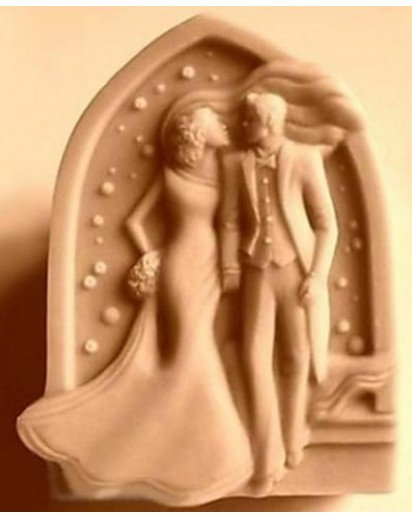 Silicone soap mold-WEDDING DAY,Cake, Chocolate decoration