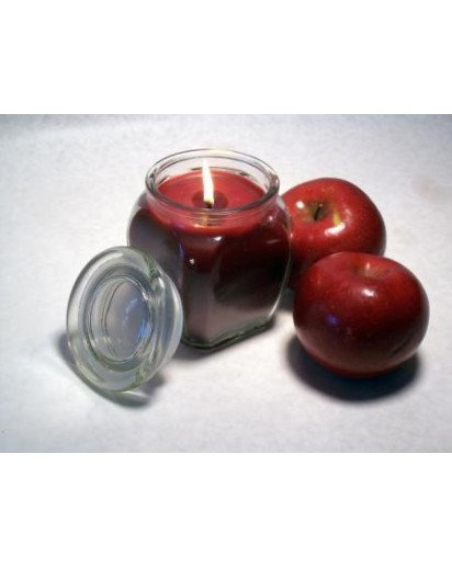Glass Jar Candle, 4.5x3 inch