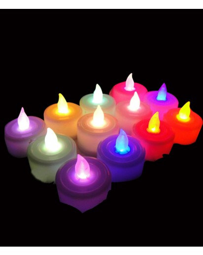 LED Tealight Candles, pack of 12