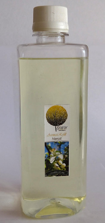Reed Diffuser Refill 500ml. bottle with Spray, NEROLI