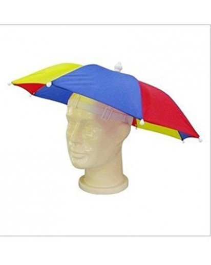 Umbrella hat ,multicoloured hands free ,for kids n adults
