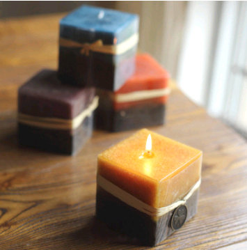 Cube square candle molds, silicon mold