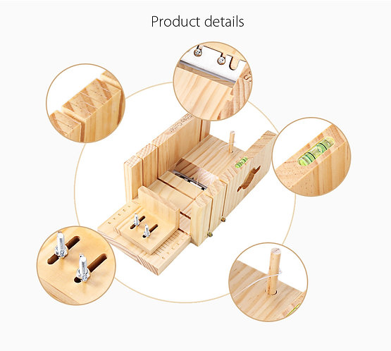 Wooden Soap Cutter Box, Balancing, Wire Cutting