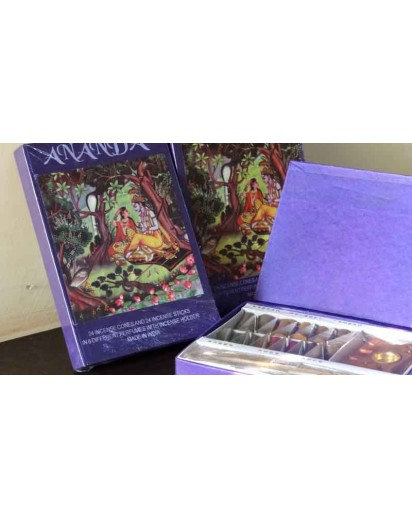 Incense & cone Fragrance Book Gift Pack