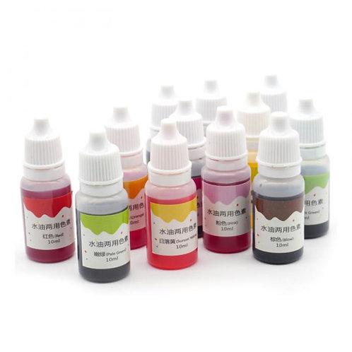 10ml Soap Liquid Dye, Pigments Base Color