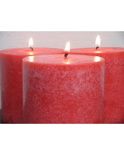 Pillar 3x3 inch Scented Candle