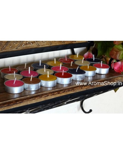 Scented Tealight Assorted Candles, Pack of 20