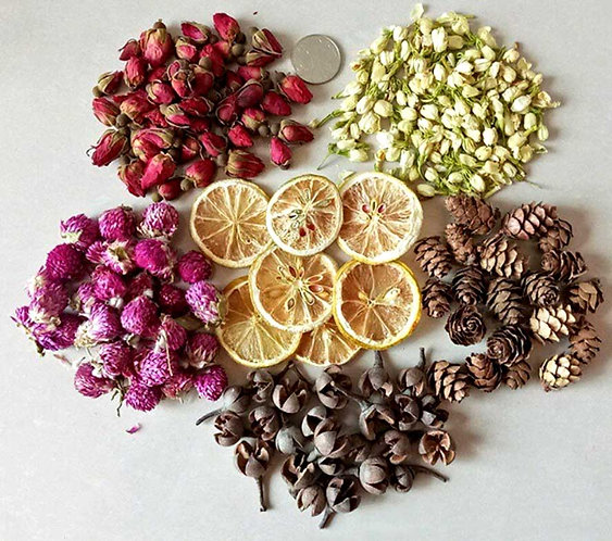 Dried Flowers for soap, candle making, potpourri