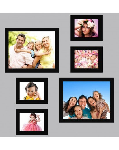 Photo frames, Set of 5 frames- 4x4(1),4x6(4)