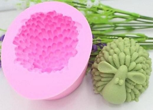 Silicone Candle mold-SHEEP, Soap, Cake, Chocolate decoration