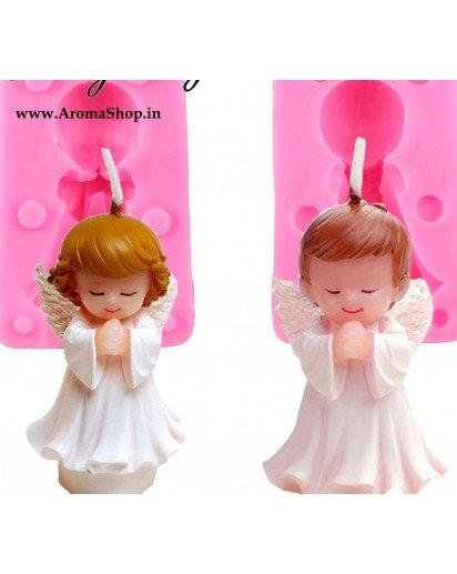 Boy Girl Angel Silicone Candle Mold