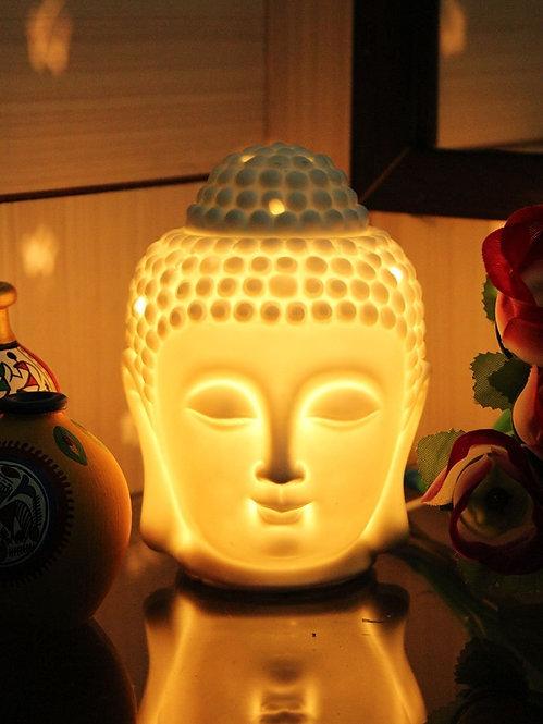 "Electric Aroma Lamp, 5"" inch Buddha face"