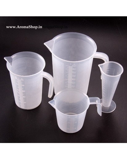 100ml 250ml 500ml 1000ml Transparent cup scale Plastic measuring cup