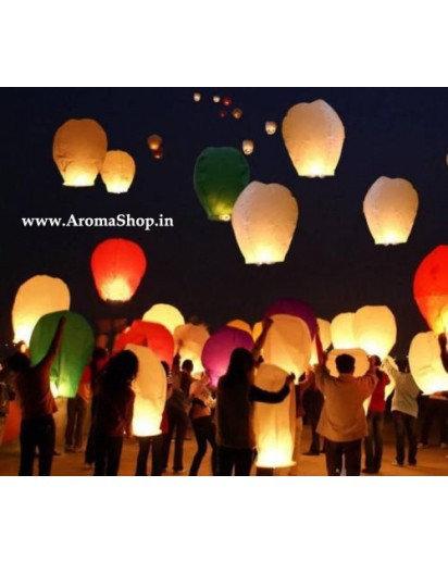 10pcs Sky Lantern Lamp Hot Air balloon