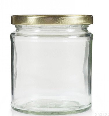 LID Jar set of 72 pc, 3x4 inch, Candle Jars