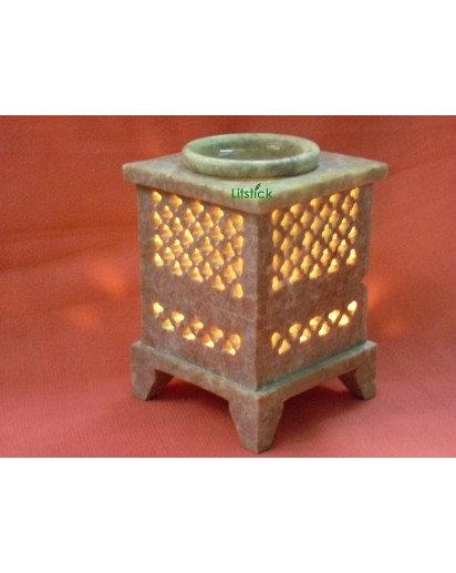 Aroma Lamp, Stone Jaali Design