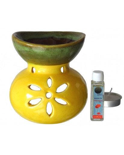 Aroma Lamp set- Buddha pot design