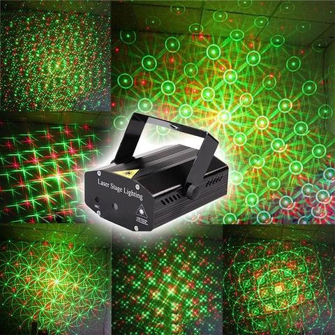 Laser Projector Stage Lighting Sound Activated, for  Party & festival
