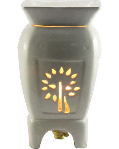 "Electric Aroma Lamp, 8"" inch Buddha Tree 4 Leg"