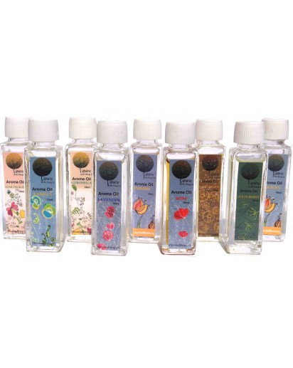 Aroma Oil, 10ml. ICE CUBE Bottle (Choose Fragrance)