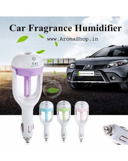 Car Humidifier Air Puriifier Aroma Diffuser Sprayer Mist Maker Auto Car Fragranc
