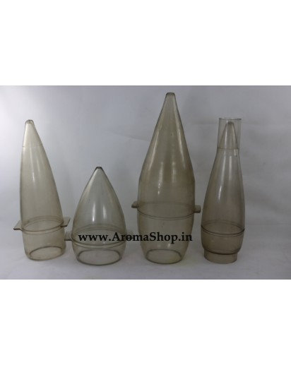 Bullets Shape Plastic candle Mold,4 sizes Candle making
