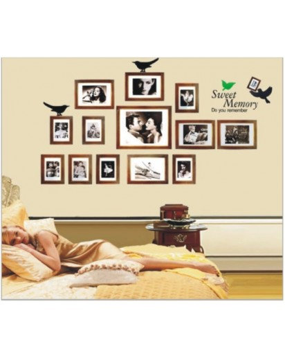 60x90cm, sweet memories Wall Decal Sticker