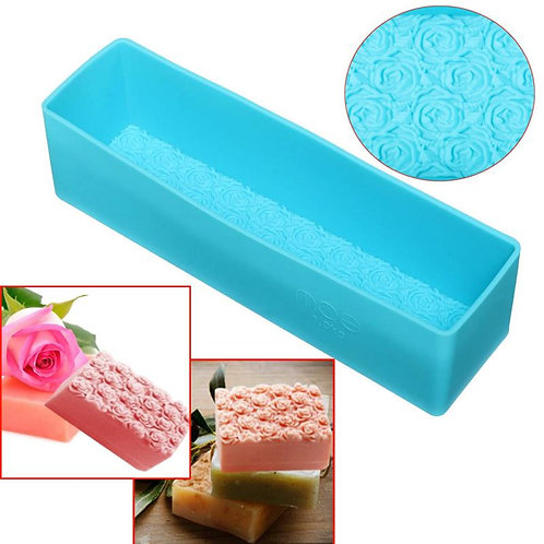 Silicone Soap Moldbrick Rose design