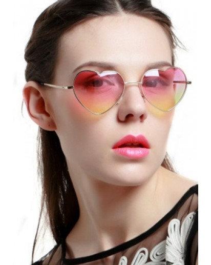 Heart Shape aviator Women Sunglasses, 4 design