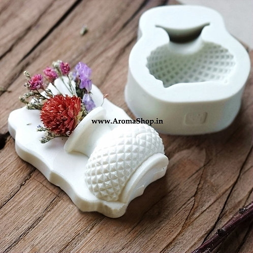 Flower Vase Shape 3D Silicone Mold Vase
