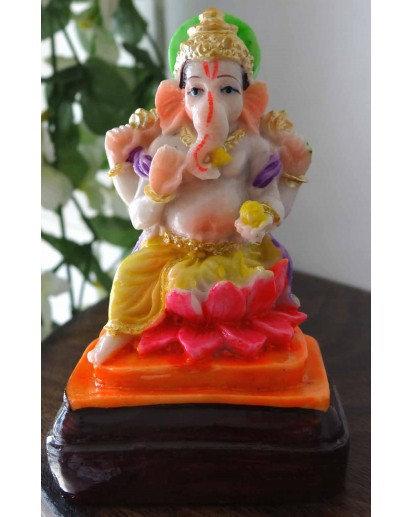 Ganesh Kamal statue, Rasin statue
