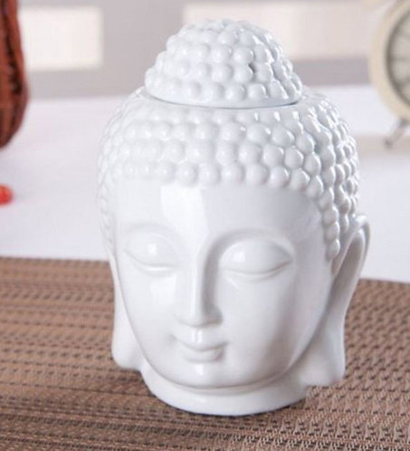 Aroma Lamp white buddha candle diffuser
