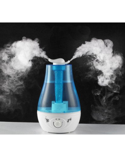Ultrasonic Humidifier, 2.5 Leter capacity, 2 NOSE design