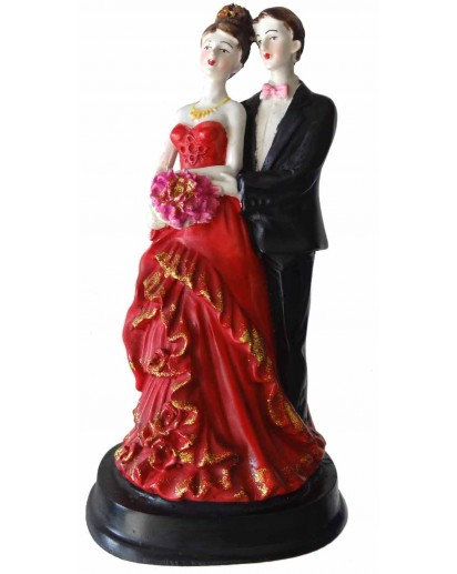 Couple bouquet statue, Rasin